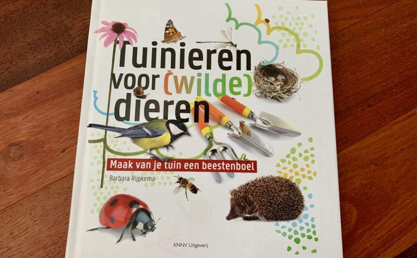Boek: Tuinieren voor (wilde) dieren