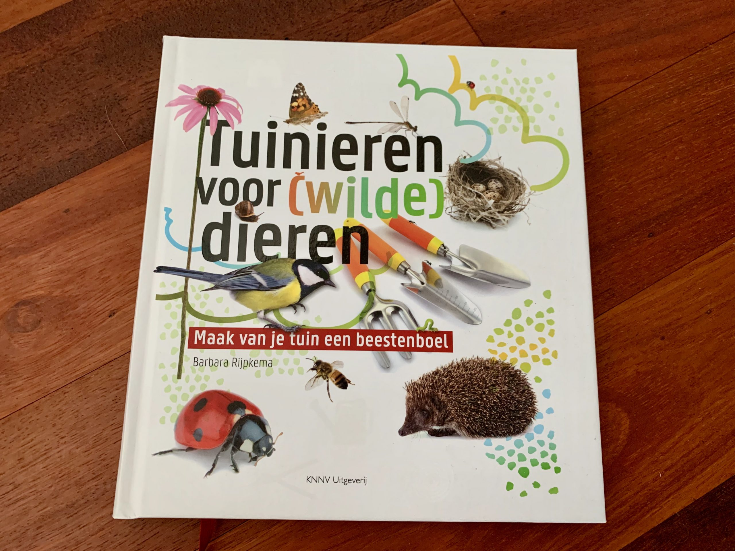 Boek tuinieren voor wilde dieren